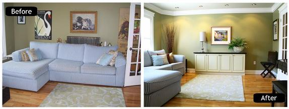 Home staging lenka eberhardt royal lepage north bay for Staging a house before and after